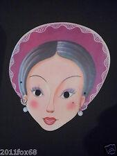 maschere di carnevale anni 60 karnevalsmasken 60 Jahre carnival masks 60 years