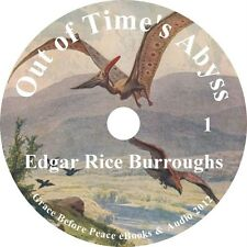 Out of Time's Abyss Sci-Fi Audiobook by Edgar Rice Burroughs on 1 MP3 CD