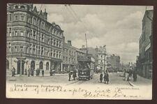 Northants PETERBOROUGH Long Causeway Tram PPC 1904