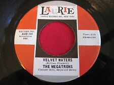 OLDIES 45 - THE MEGATRONS - VELVET WATERS / THE MERRY PIPER - LAURIE AUD-101