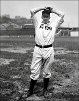 Christy Mathewson #7 Photo 11X14 - 1904 Giants B&W