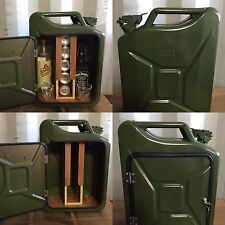 Upcycled Jerry Can Mini Bar, Picnic, Camping, Recycled, New, Drinks Cabinet