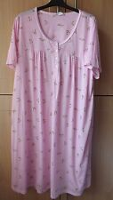 NEW  WITH TAGS SOFT STRETCH  PINK FLORAL NIGHT DRESS SIZE 20-22
