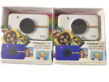 Polaroid Snap Instant Print Digital Camera (10 MP) - White , bundle (2)