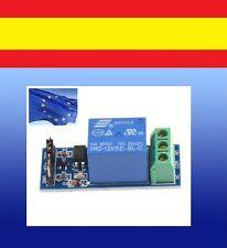 RELÉ ARDUINO  de 12V 1 CANAL modulo relay ARM PIC AVR octocoupler DSP M72 module