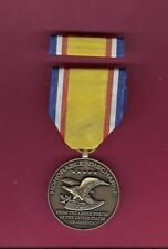 Honorable Discharge Commemorative medal with ribbon bar