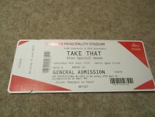 Take That Greatest Hits Live 8th June 2019 Principality Stadium Cardiff Ticket.