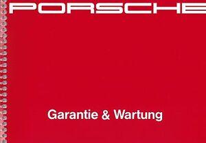 Serviceheft zur Betriebsanleitung Wartung für Porsche 911 (964) Carrera & Turbo