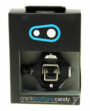 CRANK BROTHERS CANDY 7 MOUNTAIN BIKE PEDALS BLACK