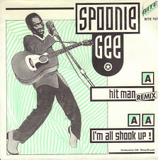 "SPOONIE GEE – Hit Man (Remix) (1987 HIP HOP VINYL SINGLE 7"" HOLLAND)"