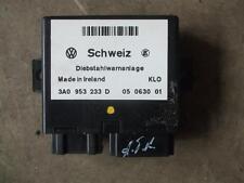 Steuergerät Diebstahlschutz VW Passat 35i Golf 3 Vento 3A0953233D