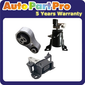For Ford Fiesta 1.6L 2011-2016 MotorKing Engine Motor & Auto Trans. Mount 3PCS