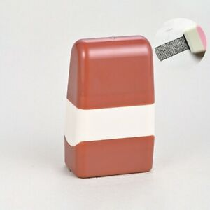 Identity Theft Protection Privacy Data Roller Stamp Seal 4*2.5*6.8cm