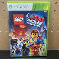 The LEGO Movie Videogame Xbox 360 Microsoft COMPLETE (TESTED) FREE SHIPPING