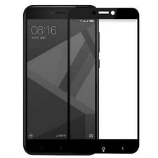 9H Full Covered Tempered Glass Screen Protector Film For Xiaomi Redmi 4X