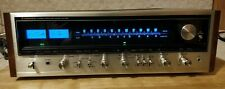 Pioneer SX-838 Vintage Receiver Pro Restored LED Relamped & demo video