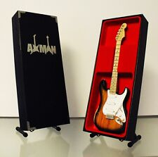 Buddy Holly - Fender Stratocaster: Guitar Miniature Replica (UK Seller)