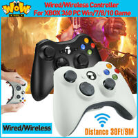 USB Wired/Wireless Controller Gamepad Joystick For XBOX 360 PC WIN/7/8/10 Joypad
