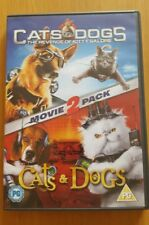 Cats and Dogs Cats and Dogs The Revenge of Kitty Galore DVD 2010 2 Disc imm cond