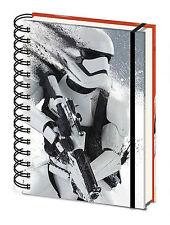 Official Star Wars A5 Stormtrooper Notepad Notebook Episode VII 7 Film Gift