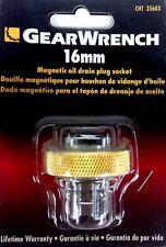 GearWrench Gold* Magnetic Oil Drain Plug Socket - 16mm 35603 *Lifetime Warranty*