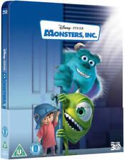 MONSTERS INC - 3D/2D Blu-ray Steelbook -
