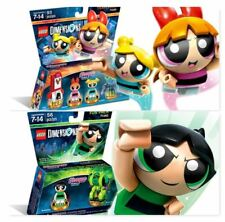 Lego Dimensions Powerpuff Girls Blossom, Bubbles,& Buttercup NIB!! 71346 & 71343