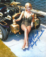 PAT PRIEST SIGNED MARILYN MUNSTER 8X10 PHOTO MUNSTER KOACH
