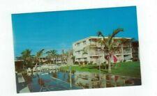 FL St.Petersburg Florida vintage post card Edward James Hotel