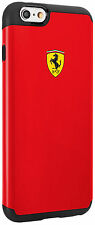 "Official Ferrari Shockproof Red Hard Case for iPhone 6/6S PLUS  5.5"" FESPHCP6LRE"