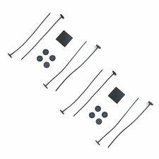 RADIATOR FAN TIE STRAP MOUNTING KIT 2 PACK ZIP TIES STRAPS TABS SPRINGS