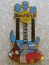 LONDON,Hard Rock Cafe Pin,Triple neck Cityscape guitar with Big Ben