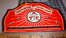 Vintage Superior Atc Sewing Needle Book, great graphics & colors