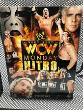 The Very Best of WCW Monday Nitro ~VOL. 1 ~ WWE Wrestling 3-Disc DVD~ Sealed NEW