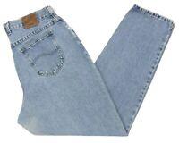 Women's Lee Original Jeans 18M Blue High Waisted Cotton 8 M Mom Hipster Vintage