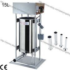 15L Electric Auto Sausage Filler Sausage Stuffer Sausage Salami Maker Machine