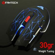 4800DPI FANTECH Optical 6D USB Wired Game Mouse Macro RGB Gaming Mouse Mice #rf2