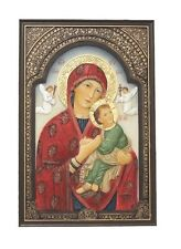 Our Lady of Perpetual Help Plaque Veronese Miracles Healing Catholic Madonna
