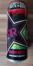 1 Volle Energy drink Dose Rockstar Green Apple WIN Tickets Rock am Ring 2017 Can