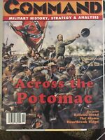 XTR Command Magazine and Game 30 Across The Potomac Unpunched OOP