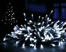 400 Bright White Chasing LED Indoor/Outdoor Garden Christmas String Fairy Lights