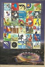 "GB "" Olympic The Sports of London 2012"" 2011 full sheet CTO"