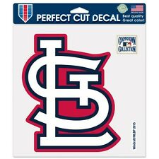 St Louis Cardinals Car Window Decal 8 Perfect Cut Decal StL Color