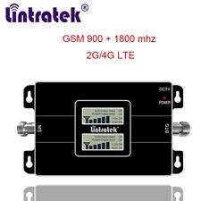 Cellular Signal Repeater 900 1800 MHz 2G 4G Handy Booster Daten und Sprache