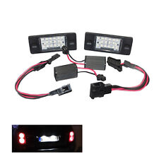ERROR FREE SMD White LED License Plate Light for 03-10 Cayenne VW Touareg Tiguan