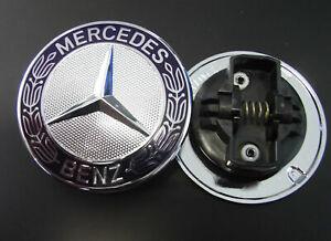 Mercedes Benz 57mm Bonnet Badge Emblem C, E, S Class C180 C200 MODEL  LIST BELOW