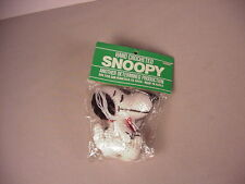 Vintage 1968 Snoopy cartoon toy MIP crocheted doll  Peanuts Gang Determined Prod