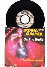 "7 "" - Donna Summer - On the Radio --"