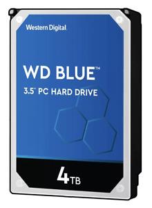"Western Digital 4TB PC Hard Drive WD40EZAZ SATA III 5400RPM 256 Cache 3.5"" Inter"