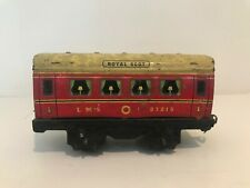 🚂 CHAD VALLEY O Gauge ROYAL SCOT ca.1947 Passenger Carriage HORNBY, TRIANG Rail